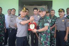 Jalin sinergitas TNI-Polri, Kapolres Sergai kunjungi Kodim 0204/DS