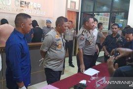 Tiga oknum polisi Polda Maluku dan dua warga pakai narkoba ditangkap