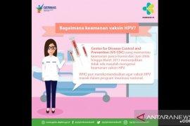 Satgas ingatkan masih 120 ribu anak perempuan belum dapat vaksin HPV