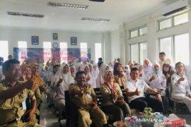 Melati Erzaldi kunjungi SMK Negeri 5 bantu produk siswa bernilai ekonomi
