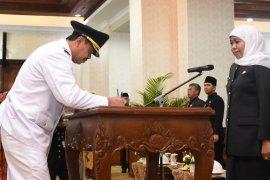 Pungkasiadi dilantik sebagai Bupati Mojokerto, gantikan MKP terjerat korupsi
