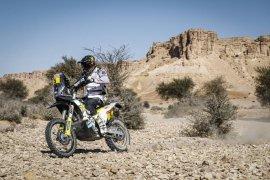 Quintanilla juarai etape IX Dakar 2020