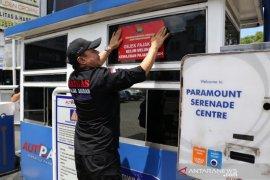 Pemkab Tangerang segel perusahaan parkir menunggak pajak lebih dari 15 bulan