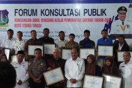 Wali Kota Tebing Tinggi buka forum konsultasi publik