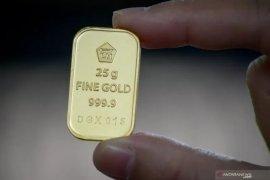 Emas turun 3,50 dolar AS, di tengah reli  ekuitas dan data positif