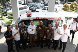 PMI Medan terima bantuan mobil  jenazah