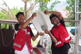 Closet Kagasata hasil kretivitas relawan PMI Kota Palu