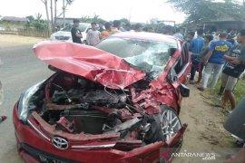 Hendak padamkan api, mobil Damkar Aceh Utara alami tabrakan
