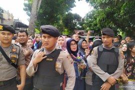 300 personel dikerahkan dalam rekonstruksi pembunuhan Hakim PN Medan Jamaluddin