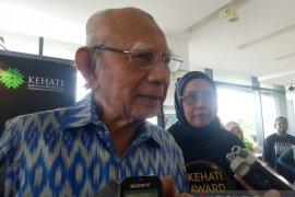 Emil Salim :Lahan pertanian harus masuk ke tata ruang untuk kedaulatan pangan