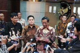 Soal Asabri, Mahfud minta prajurit TNI-Polri tak usah gundah