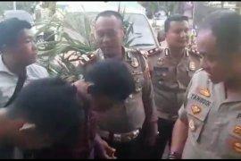 Dua orang diduga pelaku curanmor dibekuk Polresta Lampung