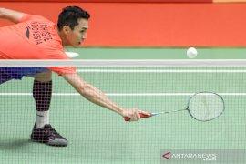 BATC 2020, Jonatan gagal kunci kemenangan bagi Indonesia pada partai ketiga