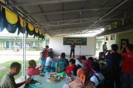Kodim mukomuko gandeng media untuk penguatan pertahanan daerah