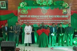 Polda Bengkulu gelar Natal oikumene