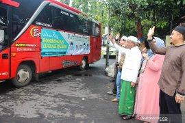 Bupati Banjar Khalilurrahman lepas peziara