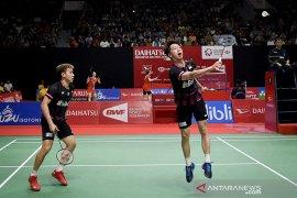 Kevin/Marcus menang, tuan rumah Indonesia loloskan tiga ganda putra ke perempat final