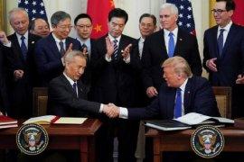 Amerika Serikat dan China tanda tangani perjanjian perdagangan fase 1