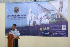 Lanud SIM Sosialisasikan SMA Pradita Dirgantara