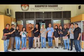 KPU berharap peran aktif media dalam menyukseskan Pilkada Sekadau