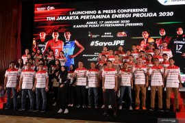 Tim putri JPE bertekad raih gelar Proliga 2020