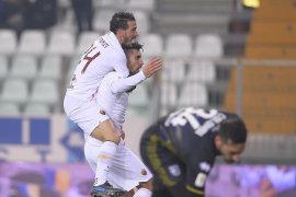 Roma melaju ke perempat finalis Coppa Italia
