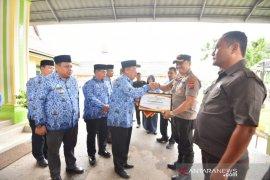 Gagalkan peredaran ganja 250 kg, Pemkot Padangsidimpuan berikan penghargaan untuk polisi