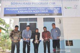 Medco E&P Malaka resmikan rumah layak huni di Aceh Timur