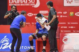 Antonsen hentikan laju Jonatan Christie di perempat final Indonesia Masters