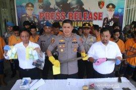 Polres Jember tangkap 34 tersangka kasus kejahatan jalanan dan prostitusi
