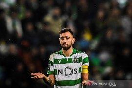 MU dan Sporting tak kunjung sepakati harga Bruno Fernandes