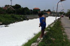 DLHK periksa busa yang menutupi sungai di Sumput