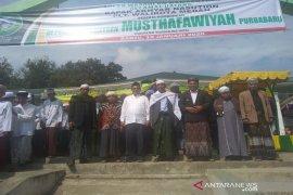 Akhyar Nasution kunjungi Pesantren Musthafawiyah Purba Baru