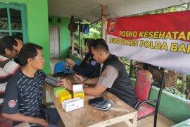 Biddokes Polda Banten bhakti kesehatan korban banjir Lebak