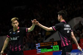 Final Indonesia Masters, Indonesia pastikan gelar ganda putra