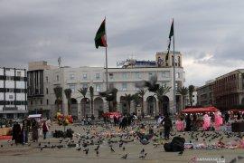 Peluru artileri gempur ibu kota Libya