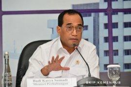 Menhub Budi akan tinjau infrastruktur perkeretaapian di Banten