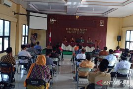 Tes tertulis Pilkades Kabupaten Rejang Lebong digelar di kantor polisi
