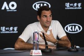Federer siap ayunkan langkah pertama Australian Open hadapi Jhonson
