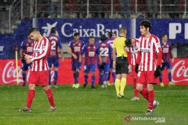 Liga Spanyol, Atletico tersungkur di Eibar
