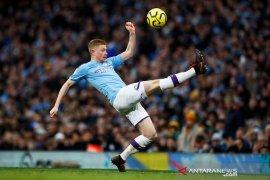 Klasemen Liga Inggris: Man City terpeleset, Liverpool bisa menjauh