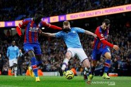 Liga Inggris: Manchester City vs Crystal Palace, gol bunuh diri gagalkan kemenangan tuan rumah