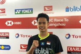 Ginting terharu dapatkan gelar tunggal putra Indonesia Masters