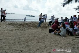 Bakuda gelar Family Gathering di Pantai Pan Semujur, dukung pariwisata Babel
