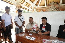 Bupati Gianyar pantau pemilihan kepala desa serentak