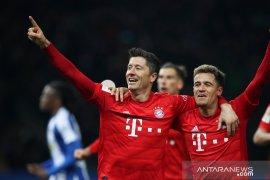 Liga Jerman, Bayern mengamuk dengan menang 4-0 di markas Hertha