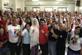 Ribuan warga Tionghoa dukung Machfud Arifin jadi cawali Surabaya
