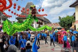 Kirab Grebeg Sudiro tarik perhatian ribuan warga dan wisatawan