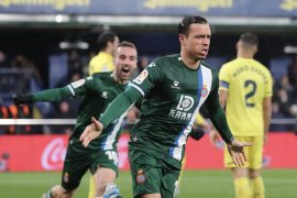 Ringkasan bola Liga Spanyol: Espanyol menang lagi setelah hampir tiga bulan