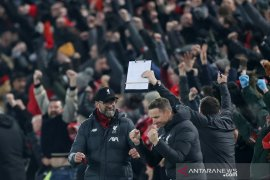 Hasil dan klasemen Liga Inggris, Liverpool unggul 16 poin dengan satu laga simpanan
